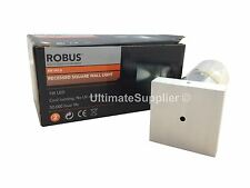 Robus RR1WLS BLUE Led Recessed Square Light Aluminium Brushed Down Light Guide