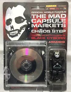 The Mad Capsule Markets : Black Cyborn Kubrick figure with CD  Medicom 2001