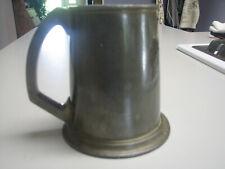 VINTAGE Howard Pewter Walker & Hall Sheffield engraved Tankard Mug