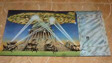 Led Zeppelin II LP von 1969 mit Original Autogrammen aller 4 Bandmitglieder, TOP