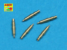 1/35 L-83 ABER  FIVE  MG34 TIPS BARRELS for GERMAN TIGER I & II PANTHER PROMOTE