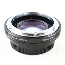 0.72x Focal Reducer Speed Booster Canon FD mount lens to Micro 4/3 m43 Adapter