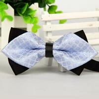 Classic Fashion Men Adjustable Novelty Tuxedo Wedding Bowtie Bow Tie Necktie