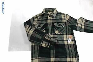 American Living Heavy Winter Shirt Size Large NWT Green Mult men