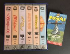 RODGERS & HAMMERSTEIN VHS Collection NEW / SEALED + BONUS promo MUSICALS tape