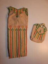 Vintage Mattel Barbie Doll 1706 PRETTY TRAVELERS SEW FREE SHEATH DRESS PURSE