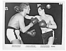 "1951 MOVIE STILL PHOTO ""IRON MAN"" STARRING JEFF CHANDLER & ROCK HUDSON FIGHTING"