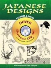 Dover Electronic Clip Art: Japanese Designs by Dover Publications Inc. Staff (20