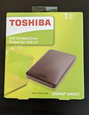 Toshiba Canvio 1TB, External (HDTP210XK3AA) Hard Drive