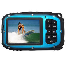 16MP underwater digital video camera, 30ft waterproof dustproof freezeproof P6W6