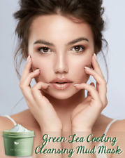 Green Tea Cooling Cleansing Mud Mask High Quality