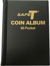 World Coin Collection Mini Album 2x2 Folder Storage Book Money Holder 60 Pockets