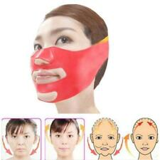 Silicone Thin Face Mask 3D V-line Lift Face Belt Slimming Facial Double Chin J