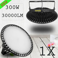 300W UFO LED High Bay Lights Slim Warehouse Factory Industrial Lamp Fixtures US