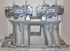 QUICK FUEL 450 CFM 2X4 DUAL QUAD TUNNEL RAM CARBURETORS VACUUM CUSTOMIZED FREE