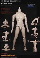 "12"" KUMIK Toys Model 1/6 Figure Man Male Ferritic Slim Version Figure Body Doll"