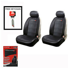 New DODGE Elite Synthetic Leather Car Truck 2 Front Seat Covers Set Airbag Ready