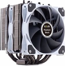 GELID PHANTOM BLACK EDITION Torre DUAL Intel AMD CPU Cooler, flusso d'aria 111.4 CFM