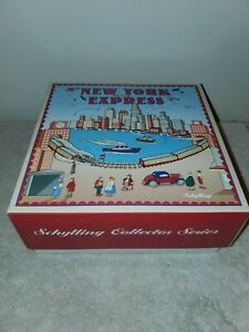 Schylling NEW YORK EXPRESS Wind Up Toy with Original Box, MINT, NEW IN BOX