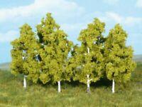 Heki 1998 - Bäume Birken zum Stecken 8cm 6x - Spur N - NEU