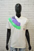 PAUL & SHARK Polo Maglia Uomo Taglia XL Maglietta Herrenhemd Bianca Shirt Cotone