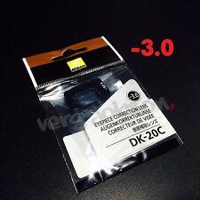 Nikon DK-20C Diopter-Adjustment -3 Eyepiece Correction Lens for D7000 D5000 FE10