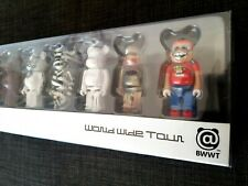Be@rbrick World Wide Tour Limited 10 corpo Figure Set BEARBRICK-Stussy/affatto uno scherzo
