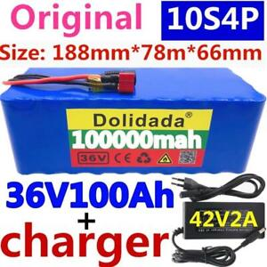 2020 Original 36v Battery 10s4p 100ah Battery Pack 1000w High Power Battery 42v