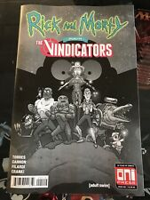 Rick and Morty Presents The Vindicators #1 Second Print Oni Press