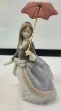 """Lladro Collectible Retired 1984 """"Angela"""" Figurine with Parasol #5211"""