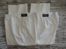 Lot of 2 NWT Alfred Dunner Classic Fit Proportioned Short White Pants Size 24W