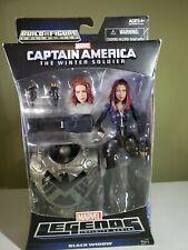 "Captain America The Winter Soldier, Marvel Legends ""Black Widow"" Action Figure"