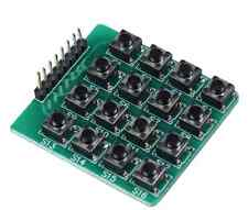New 4 x 4 Push Button Matrix 16 Tact Switches Arduino AVR ATMega PIC In UK
