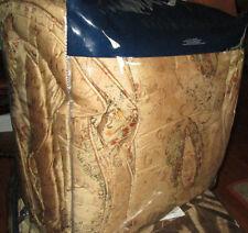 RALPH LAUREN Queen Comforter $390 VICTORIAN VERDONNET brown burgundy paisley