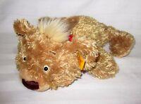 Steiff Floppy Teddy Bear Cub Plush Red Bandana Soft Play Toy