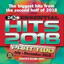 DMC Essential Hits 2018 Part 2 End Year Chart Music DJ CD