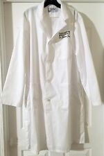 """Funny Lab Coat """"Plastic Surgery...Dr. Fillmore Jugs"""" New for Adults size XL"""