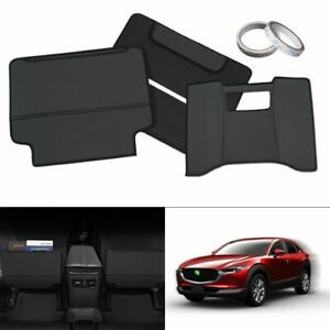 Car Seat Back Anti-kick Mat Children Leather Pad Waterproof For Mazda CX-30 2020
