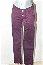 joli jeans violet stretch chino MARITHÉ FRANCOIS GIRBAUD taille 27 (I 40 fr 36)
