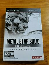 Metal Gear Solid HD Collection Playstation 3 PS3 Limited Edition New Sealed