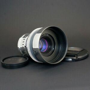 Silver Helios 44M 58mm F2 Purple Anamorphic flare & Bokeh cine lens for Sony E