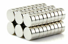 200pcs N50 Super Strong Disc Cylinder 6 mm x 3 mm Rare Earth Neodymium Magnets