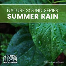 Nature Sound Series: Summer Rain - Sleep Aid - Meditation - Relax - CD Audio