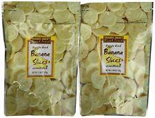 Trader Joe's Freeze Dried Bananas unsweetened, 2 Pack