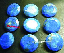 Lot Of 10 Pieces Natural Lapis Lazuli 11x11 M.M. Round Cut Loose Gemstones