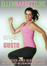 Pilates and Ballet Fusion EXERCISE DVD - ELLEN BARRETT LIVE Grace and Gusto!