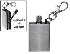 FS376 Emergency Fire Starter Magnesium Flint Match Striker Lighter Camp Survival