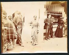 1901 ORIENT STREET PEDDLERS Buffalo Worlds Fair VINTAGE PHOTO