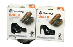 2 Pk YakTrax WALK Winter Traction Coils For Snow & Ice (Xtra Small) SHIPS FREE