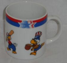 Olympic Coffee MUG Sam Eagle 1982 1984 Patel Soccer Boxing Baseball Basketball